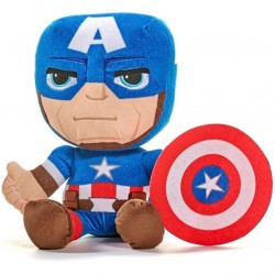 Marvel Avengers Captain America Soft Plush Toy Pehmolelu 45cm