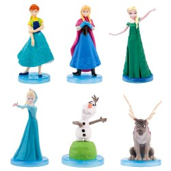 5-Pack Disney Frozen Frost Faver Figures