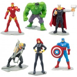 6-Pack Marvel Avengers Mystery Egg Figures Assorted