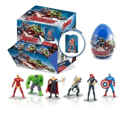 24-Pack Marvel Avengers Mystery Egg Figures Assorted