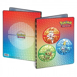 Ultra Pro Pokemon 9-P Portfolio Sword and Shield Gala Starters