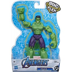 Marvel Avengers Bend and Flex Hulk Action Figure
