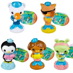 3-Pack Octonauts Squirters Bath Toys Set Figures