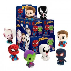 12-Pack Funko Mystery Minis Spider-Man Plushies Figures