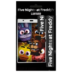 Five Nights at Freddy's Fazbear Lanyard With ID/Name Tag