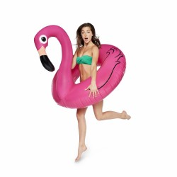 Bigmouth Inflatable Air Mattress Giant Pink Flamingo 120 cm