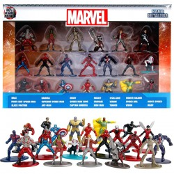 20pcs Marvel Avengers Nano Metalfigs Figures 100% Die-Cast Wave 2