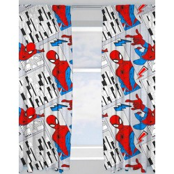 Spider-Man Flight Character Ready Made Curtains 168cm x 183cm
