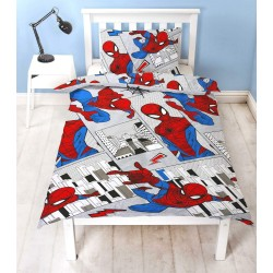 Marvel Spider-Man Flight Bed linen 135x200 + 48x74cm