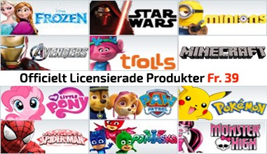 Officielt Licensierade Produkter